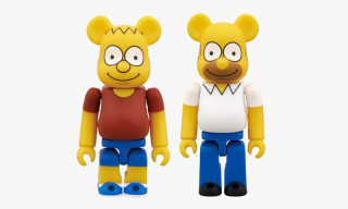 Medicom Toy x The Simpsons BE@RBRICK 100%
