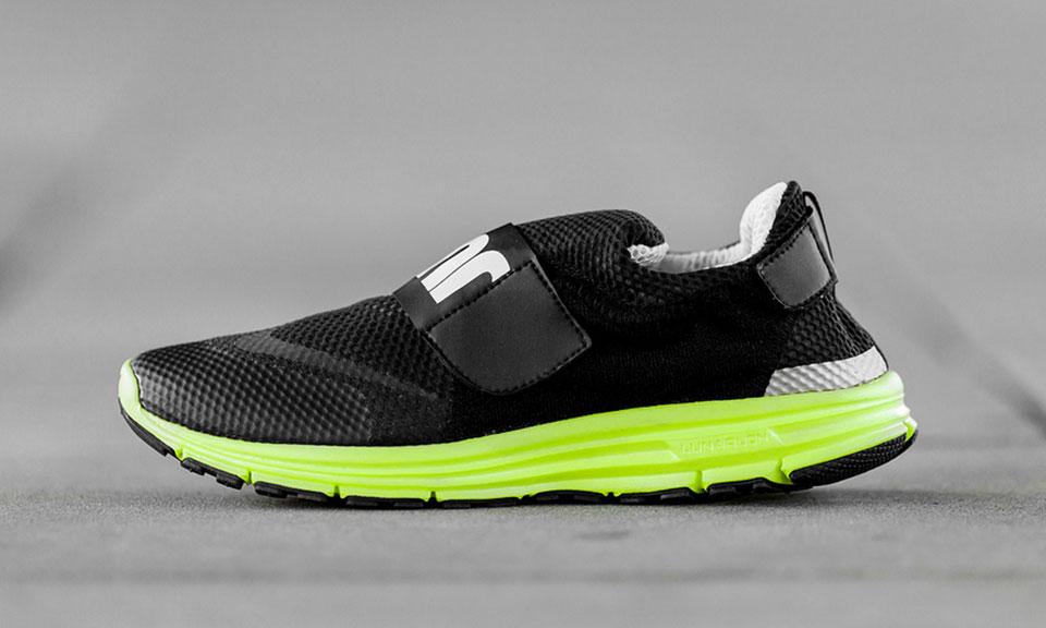 new style a5b26 cae49 high-quality Nike LunarFly 306 Black Volt Highsnobiety
