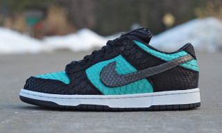 "Nike SB Dunk Low ""Python Diamond"" by JBF Customs"