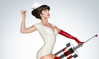 Paz de la Huerta Strips Down for 'Nurse 3D'