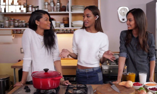 Watch Jourdan Dunn Cook Vegan Thai Chili with Chanel Iman and Joan Smalls
