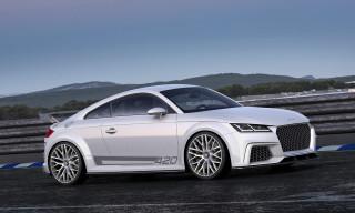 Audi TT Quattro Sport Concept Show Car