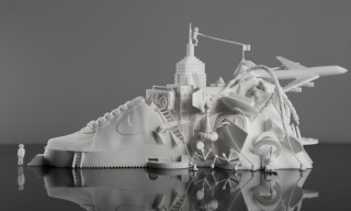 Modla x Damilola Odusote Nike Air Force 1 3D Printed Sculpture