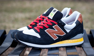 "New Balance Made in USA 996 ""Black/Yellow/Tan"""