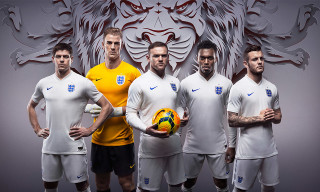 Nike Unveils England Football Kit for 2014 World Cup