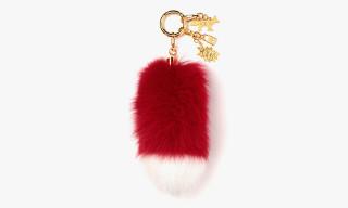 AMBUSH x Maison Kitsuné Fox Fur Keychain