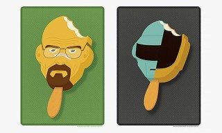 Andrew Heath Imagines Super Mario, Daft Punk, Walter White and More as Popsicles