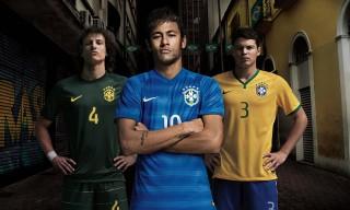 Brazil Debuts New Nike Away Kit for 2014