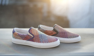 "Diemme ""Garda"" Multicolor Woven Slip-On"