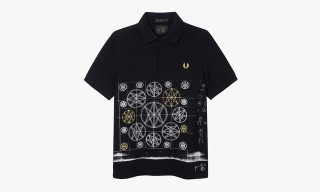 Fred Perry x Jamie Reid Blank Canvas Collection
