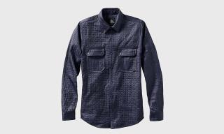 Isaora Micro-Quilted Overshirt