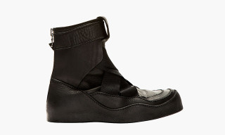 JULIUS Paneled Hi-Top Sneaker