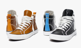 Junya Watanabe MAN Spring/Summer 2014 Cowhide Leather High Top Sneakers