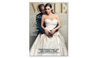 Kanye West and Kim Kardashian Cover 'Vogue' April 2014