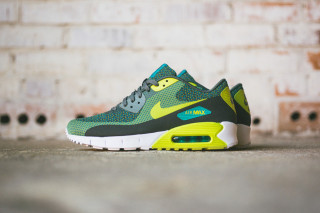 "low priced 810eb b0ecb Nike Air Max 90 Jacquard ""Venom Green"" and ""Wolf Grey"""