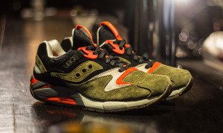 "Saucony x UBIQ Grid 9000 ""Dirty Martini"""