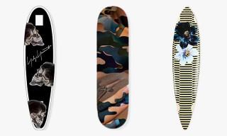 "Selfridges presents ""Board Games"" featuring Skate Decks by Rick Owens, Yohji Yamamoto, Hood By Air and More"