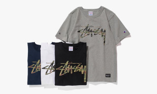 "Stussy x Champion Japan Spring/Summer 2014 ""Reverse Weave"" Collection"