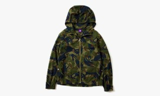 THE NORTH FACE PURPLE LABEL Spring/Summer 2014 Camo Windbreaker and Button-Up