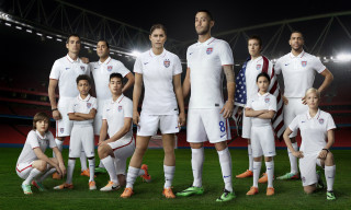 U.S. Unveils New Nike National Team Kits for World Cup
