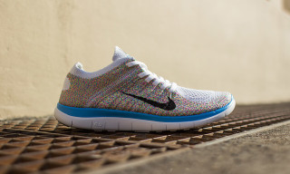 Nike Free Flyknit 4.0 White/Multicolor