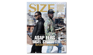 A$AP Ferg and Nigel Sylvester Cover China's 'Size' Sneaker Magazine
