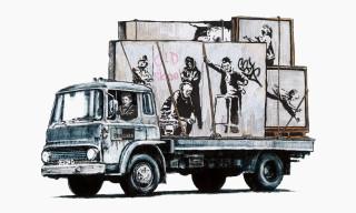 Banksy Fan Parodies Banksy Art to Criticize Street Art Profiteering Group