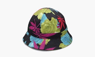 "Black Scale ""420 Leaves"" Bucket Hat"