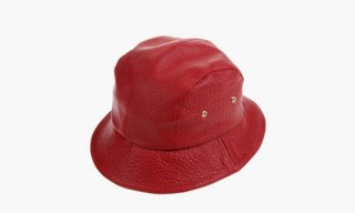"Enswear ""Bob"" Leather Bucket Hat Collection"