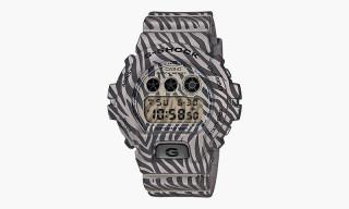"G-Shock DW-6900 ""Zebra Camouflage"" Series"