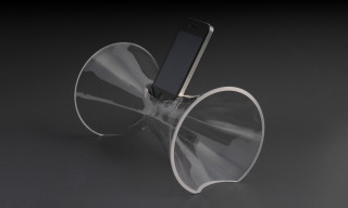 Aric Snee Creates iPhone Amplifiers from Blown Glass