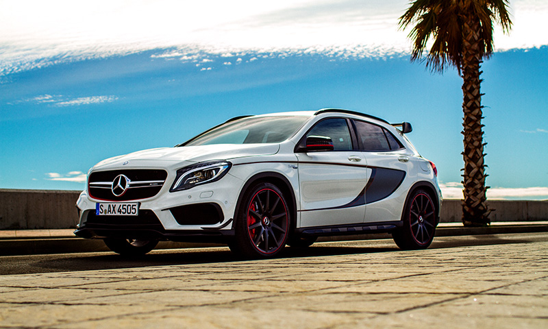 highsnobiety test drives the mercedes benz gla 45 amg highsnobiety. Black Bedroom Furniture Sets. Home Design Ideas