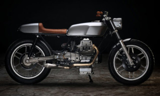 Moto Guzzi V50 Monza by Revival Cycles