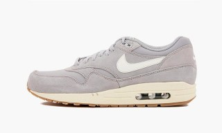 Nike Air Max 1 Essential Matte Silver/Sail-Black-Black