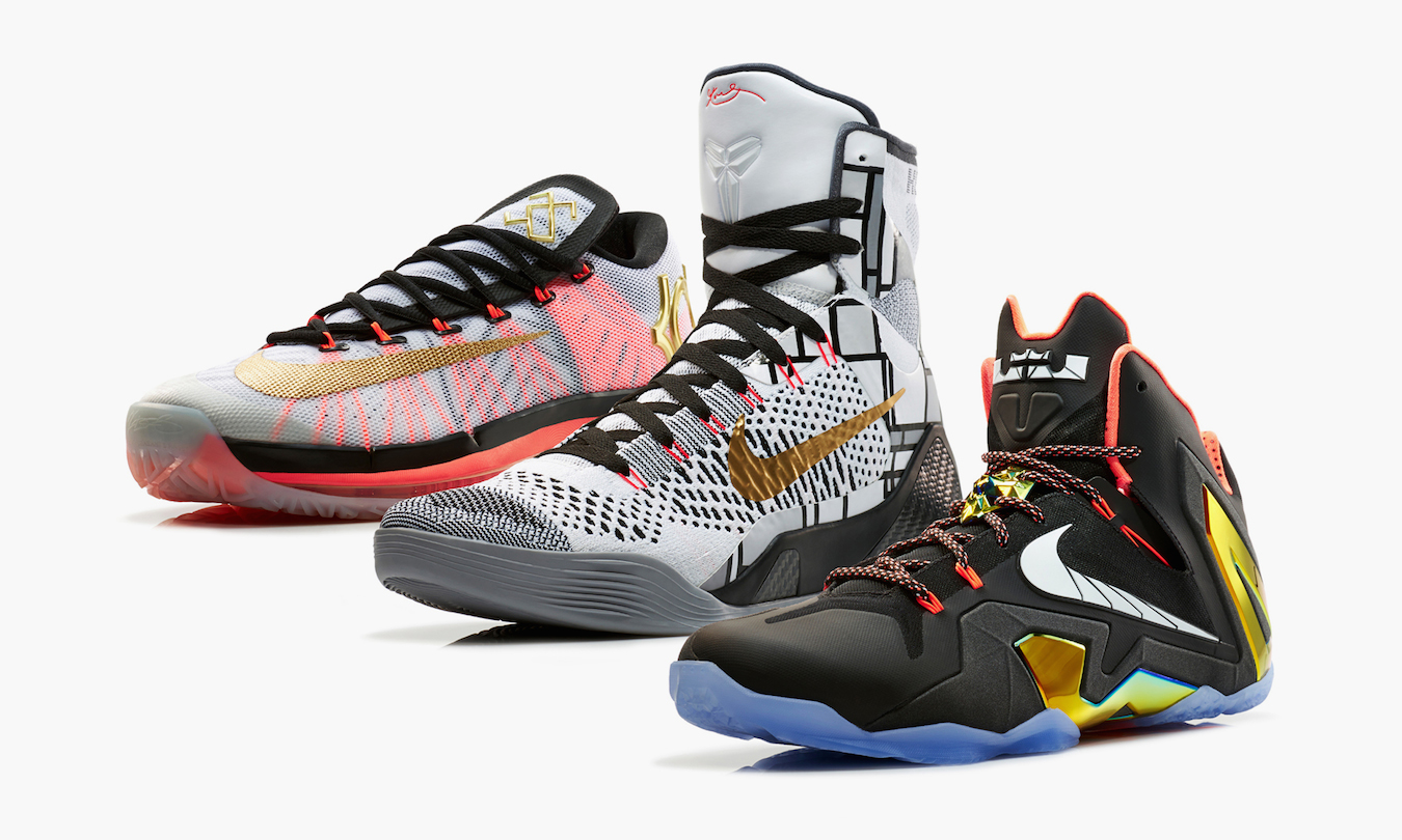 "Nike Basketball 2014 Elite Series ""Gold"" Collection ..."