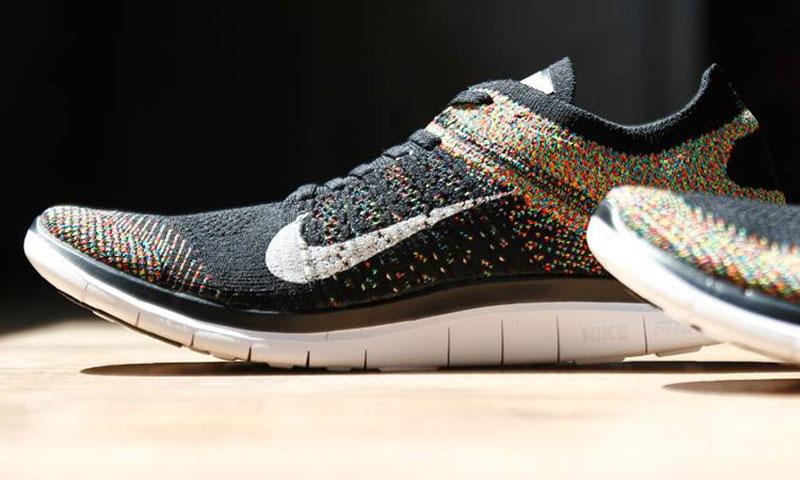 Nike Free 4.0 Flyknit Damen Multicolor