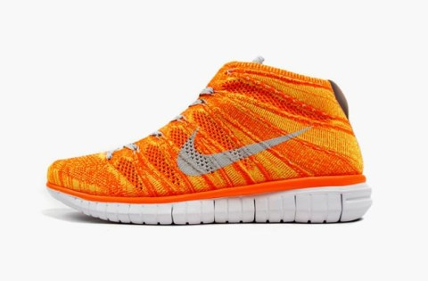"Nike Free Flyknit Chukka ""Orange Volt"" • Highsnobiety e30d2bce1"