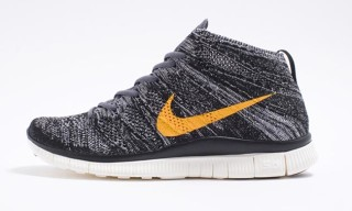 "Nike Free Flyknit Chukka SP ""Black/Grey/University Gold"""