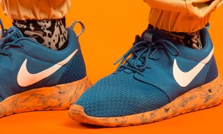 "Nike Roshe Run ""Marble"" (Blue/Orange)"