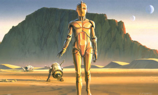 Original 'Star Wars' Concept Art by Ralph McQuarrie