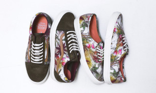 "Vans California Spring 2014 ""Floral Camo"" Pack"