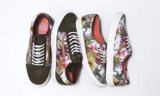 "Vans California Spring 2014 ""Floral Camo"" Pack"