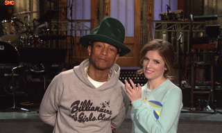 Watch Pharrell and Anna Kendrick in the Promo for 'Saturday Night Live'