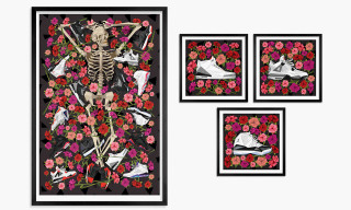 Air Jordans Illustrated in 'DOA' Limited Edition Prints by Naturel