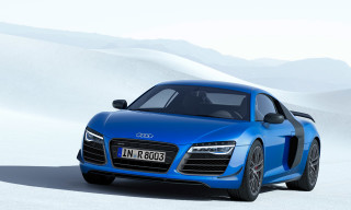 Audi Unveils R8 LMX – the World's First Production Car with Laser High Beams