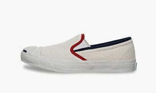 Converse Jack Purcell Cotton-Mesh Slip On