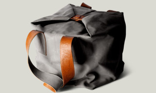 hard graft Cube Leather Tote Bag