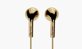 Happy Plugs 18-Carat Gold Earbuds