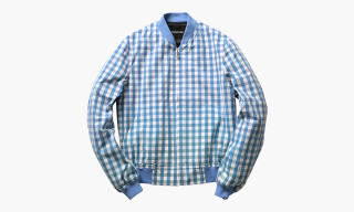 PHENOMENON Gingham Check Blouson