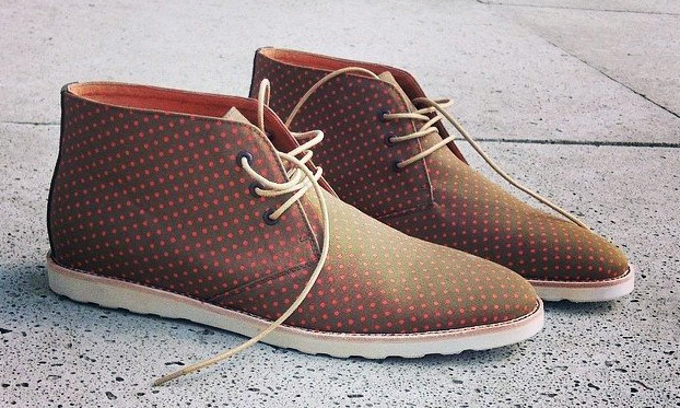 13006f56e81abc Amsterdam Shoe Co Spring Summer 2014 Polka Dot Chukka Highsnobiety 60%OFF